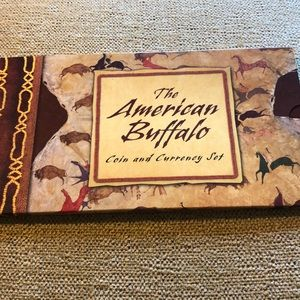 2001  us mint the American buffalo coin set